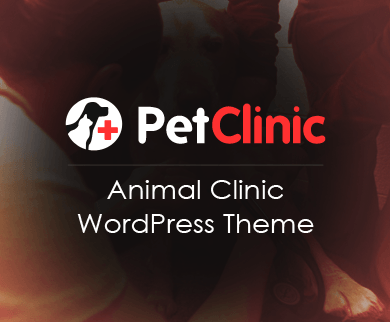 PetClinic - Animal Clinic WordPress Theme