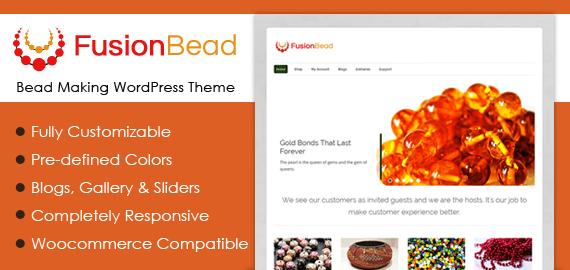 Bead Making WordPress Theme
