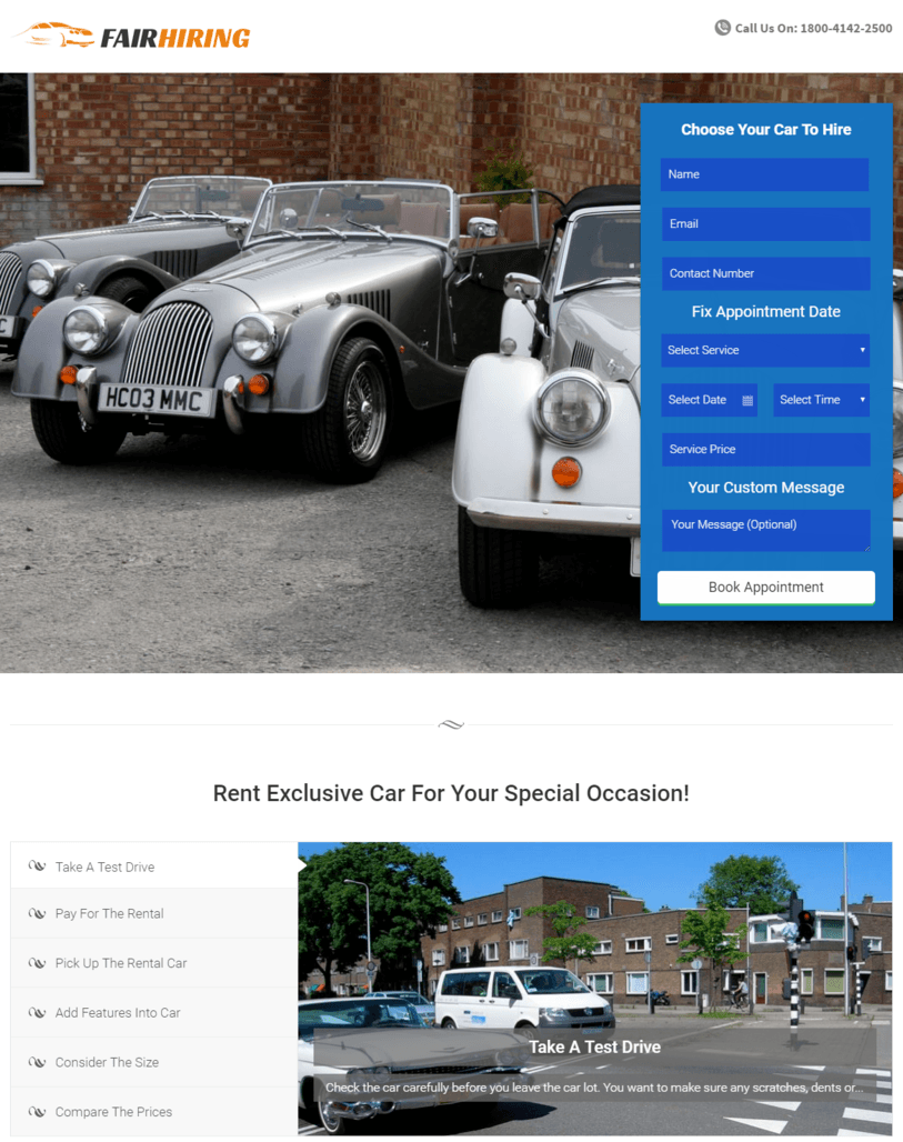 car-hire-wordpress-theme-site