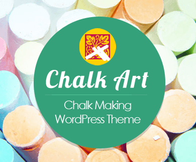 ChalkArt - Chalk Making WordPress Theme