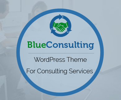 Blue Consulting - Business Consulting Services WordPress Theme