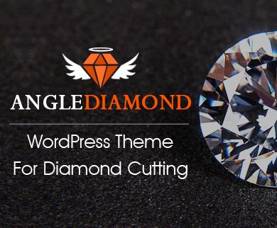 AngleDiamond - Diamond Cutting WordPress Theme