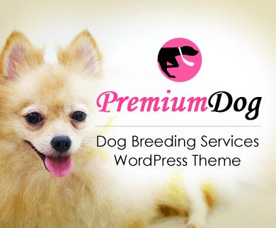 PremiumDog - Dog Breeding Services WordPress Theme