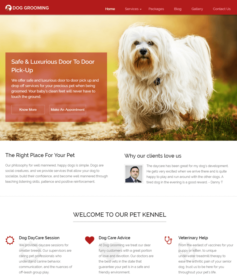 dog-grooming-wordpress-theme