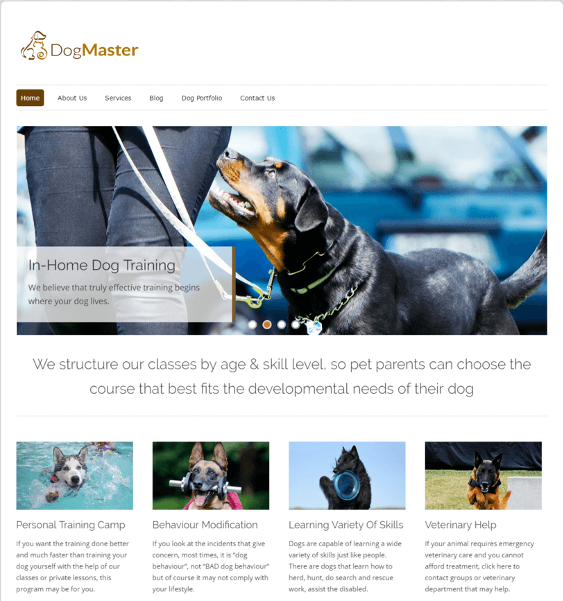 dog-training-wordpress-theme