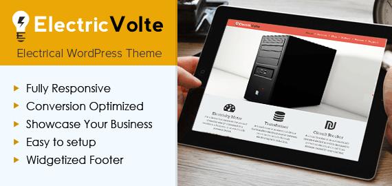 Electrical Appliances WordPress Theme