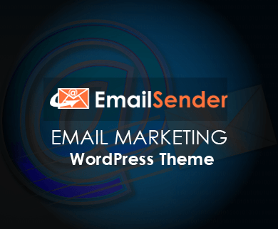 EmailSender - Email Marketing WordPress Theme