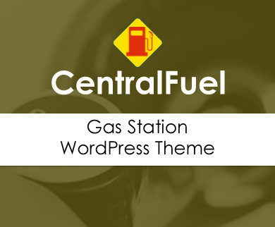 CentralFuel - Gas And Oil Station WordPress Theme
