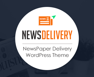 NewsDelivery - Newspaper Delivery WordPress Theme