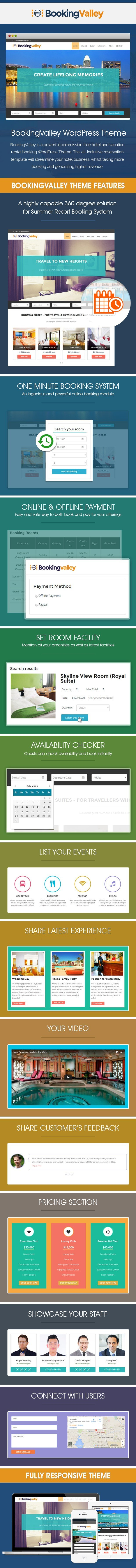 Hotel Booking WordPress Template