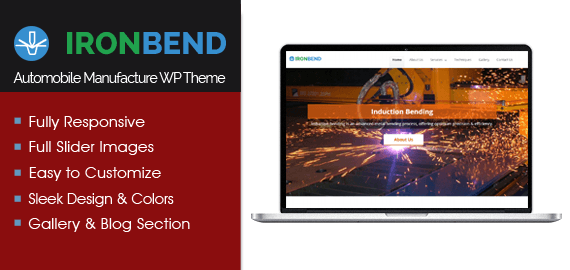 Iron Bending WordPress Theme