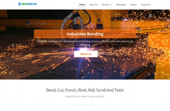 iron bend wp theme