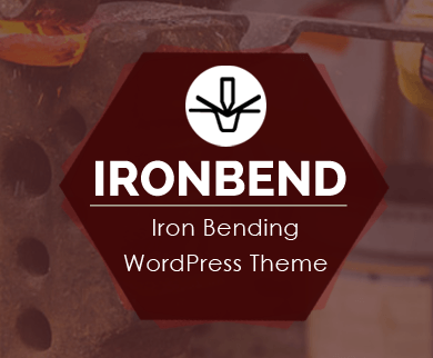 IronBend - Iron Bending WordPress Theme