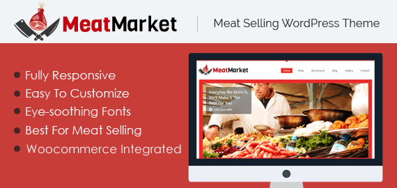 Meat Selling WordPress Theme
