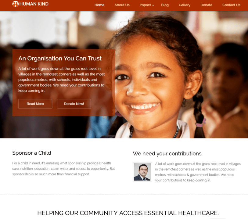 Nonprofit WordPress Theme InkThemes