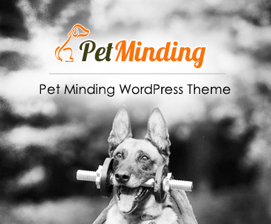 PetMinding - Pet Minding WordPress Theme