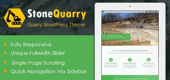 Quarry WordPress Theme