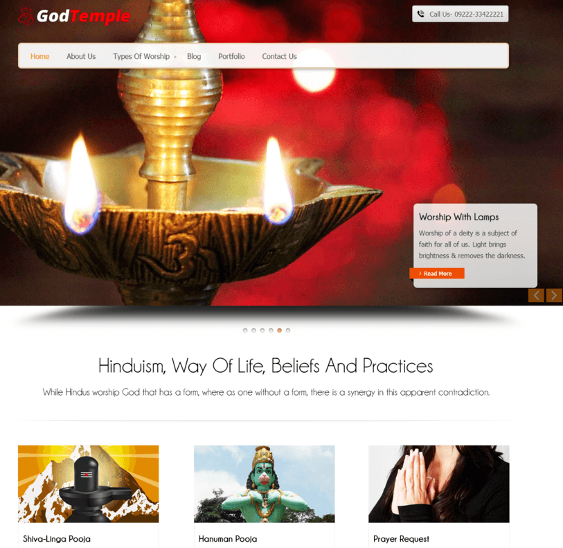 Relegious WordPress Theme InkThemes