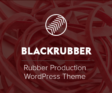 BlackRubber - Rubber Production Firm & Industry WordPress Theme