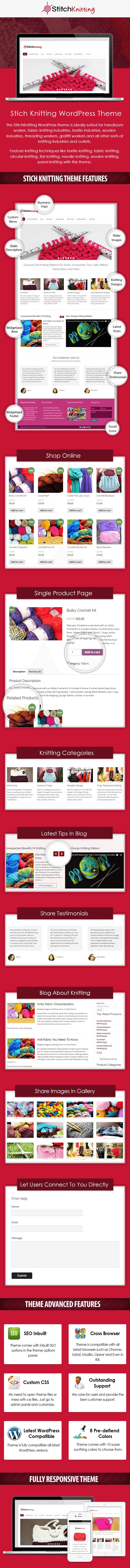 Knitting And Stiching WordPress Theme