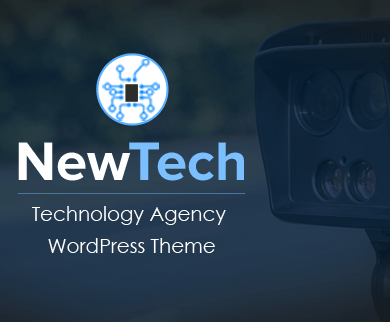 NewTech - Technology Agency Corporate WordPress Theme