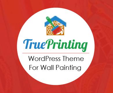 TruePrinting - Wall Painting WordPress Theme