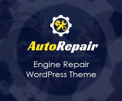 AutoRepair - Engine & Transmission Repair WordPress Theme