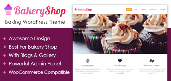 Baking WordPress Theme