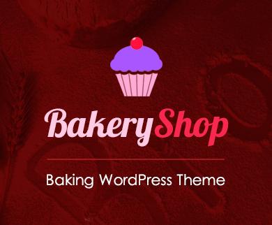 BakeryShop - Baking WordPress Theme