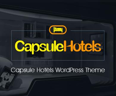 CapsuleHotels - Capsule Hotels WordPress Theme