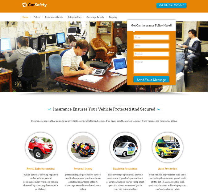 carsafety WordPress theme
