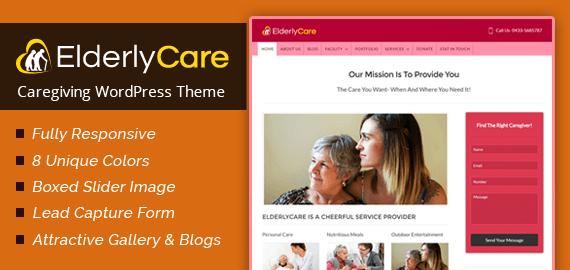 Caregiving WordPress Theme
