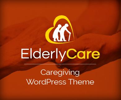 ElderlyCare - Caregiving WordPress Theme