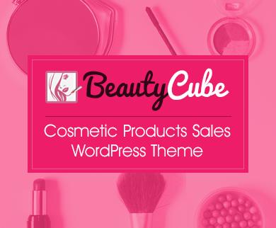 Beauty Cube - Cosmetic Sales WordPress Theme & Template