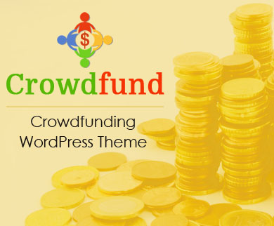 CrowdFund - Crowdfunding WordPress Theme