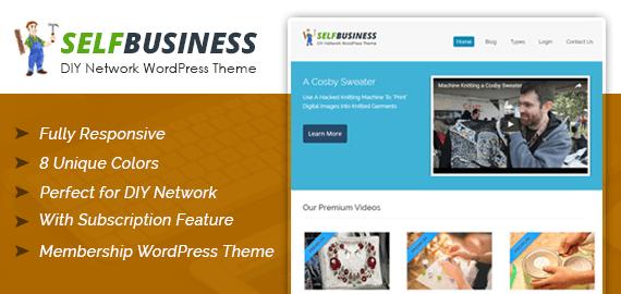 DIY Network WordPress Theme