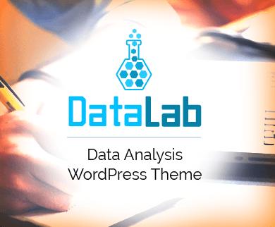 DataLab - Data Analysis & Observing Services WordPress Theme