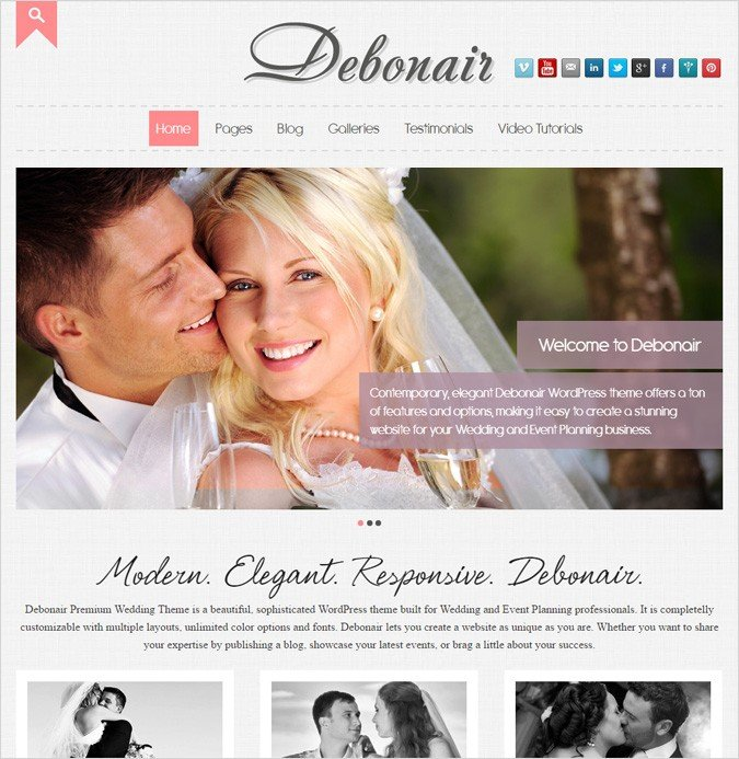 10 Best Wedding Planners Wordpress Themes 2018 Inkthemes