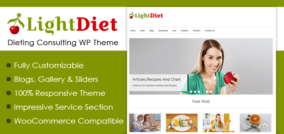 Dieting Consulting WordPress Theme