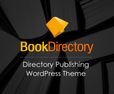 BookDirectory - Directory Publishing WordPress Theme