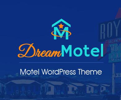 DreamMotel - Motel Room Booking WordPress Theme