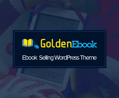 GoldenEbook - Ebook Selling WordPress Theme