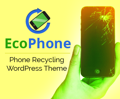 EcoPhone - Phone Recycling and Refurbishing WordPress Theme