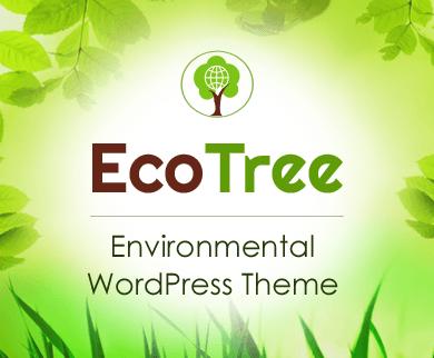 EcoTree - Environmental WordPress theme