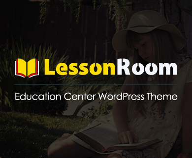 LessonRoom - Education Center WordPress Theme