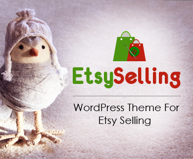 EtsySelling - WordPress Theme For Etsy Selling