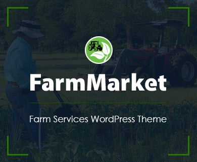 FarmMarket - Farm Services WordPress Theme