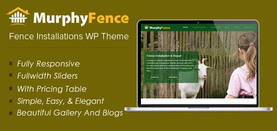 Fence Installations WordPress Theme