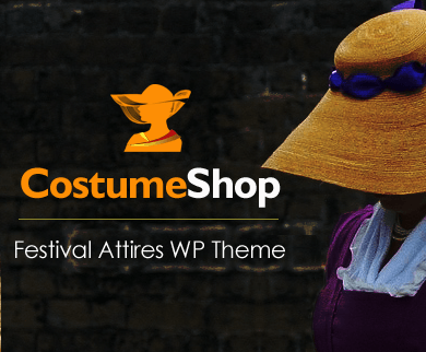 CostumeShop - Festival Attires WordPress Theme