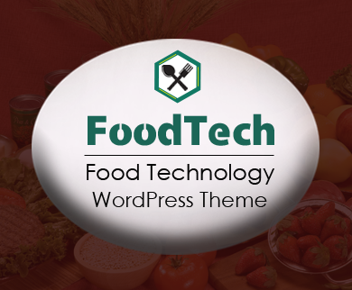 FoodTech - Food Technology WordPress Theme